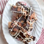 Bacon and Pecan Topped Toffee