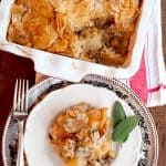 Chicken, Leek, and Mushroom Pie