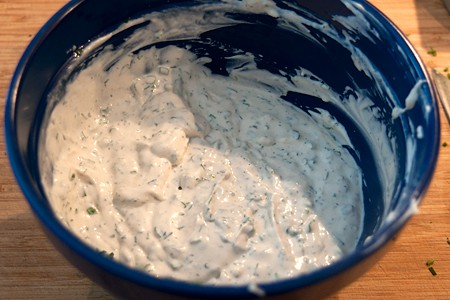 Green Goddess Dressing from Never Enough Thyme