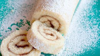 Raspberry Filled Jelly Roll
