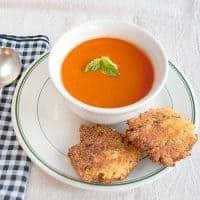 Tomato Roasted Garlic Soup