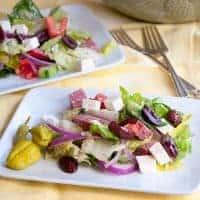 My Favorite Greek Salad