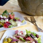 Spring Cleaning in the Kitchen and My Favorite Greek Salad