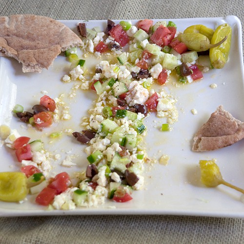 My Big Fat Greek Appetizer after photo shoot and testing