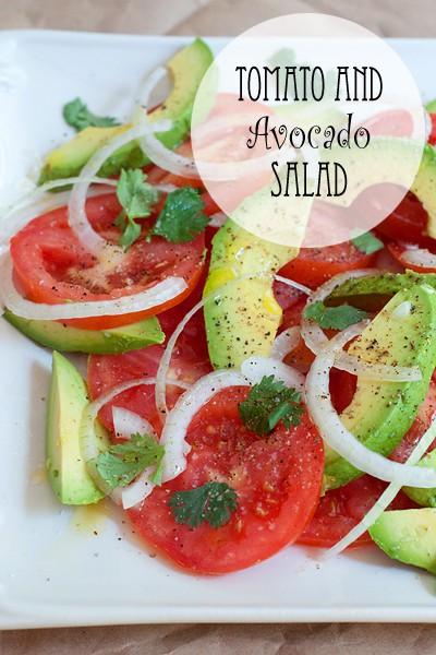 Tomato and Avocado Salad | Never Enough Thyme