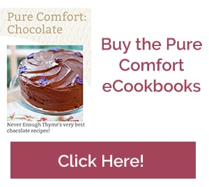 Never Enough Thyme's eCookbooks