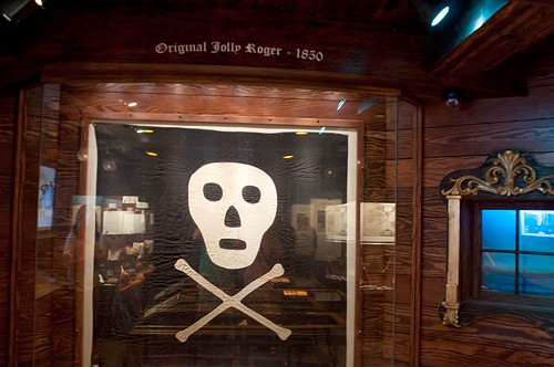 Original jolly roger flag - St. Augustine