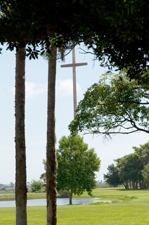 Menendez landing cross