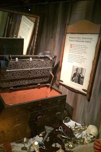 St. Augustine - only surviving pirate treasure chest