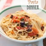One Pot Pasta Dinner