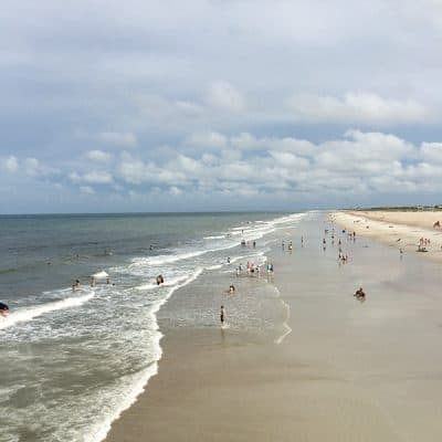 A summer vacation with both beach and history in St. Augustine, Florida. From @NevrEnoughThyme https://www.lanascooking.com/vacation-beach-history-st-augustine/