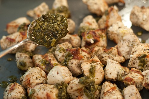 grilled chicken with pesto for Italian Marinated Chicken with Garlic ...