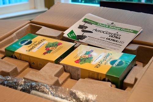 AeroGarden Packaging