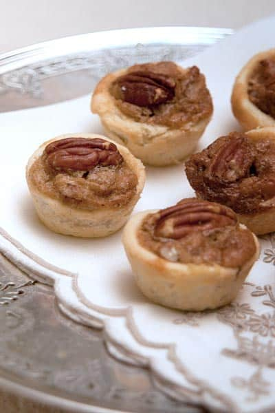 Pecan tassies are a traditional southern holiday recipe. These two ...