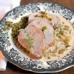 Pork Loin with Creamy Celery Sauce