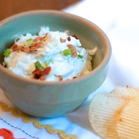 Bacon and Blue Cheese Dip
