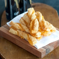 Puff Pastry Cheese Straws
