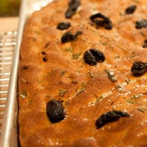 Olive and Tomato Whole Wheat Focaccia #TwelveLoaves