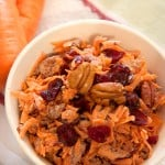 Carrot and Dried Cranberry Salad