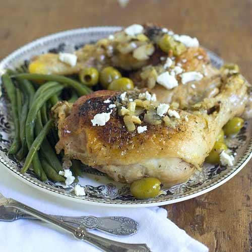 Lemon Olive Chicken