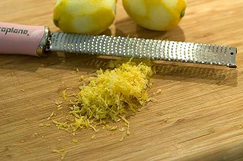 Prep lemons for Lemon Olive Chicken