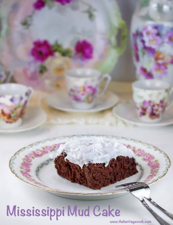 Mississippi Mud Cake - Never Enough Thyme