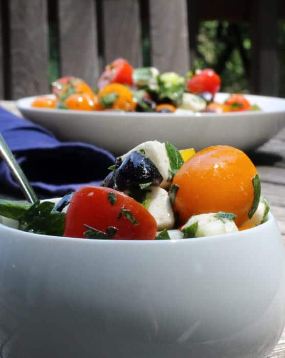 Tomato, Feta and Olive Salad