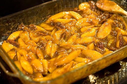 Hot Curried Georgia Peaches