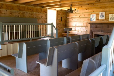 New Echota Cherokee Capital Council House Interior