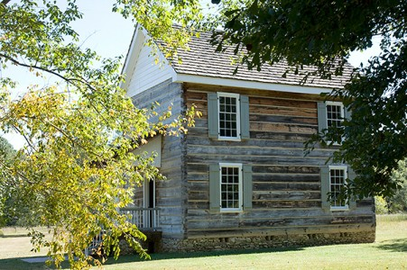 New Echota Cherokee Capital Council House