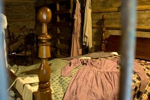 New Echota Farm Dwelling Interior