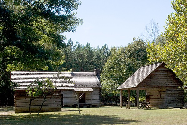 New Echota Cherokee Capital Farm Dwelling
