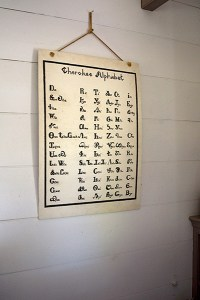 New Echota Cherokee Capital Print Shop Cherokee Alphabet