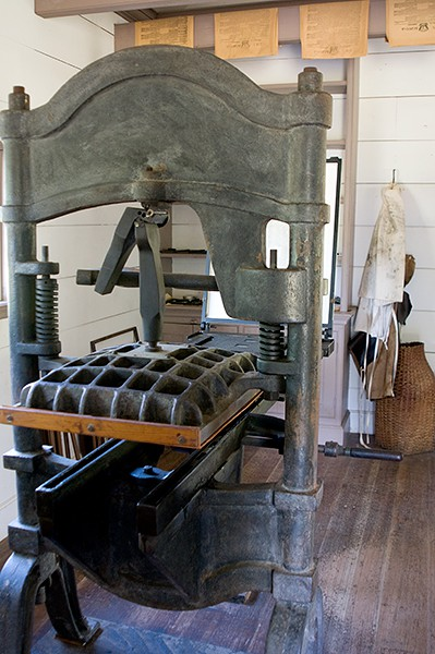 New Echota Cherokee Capital Print Shop Press