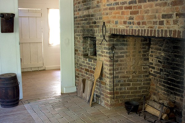 New Echota Cherokee Capital Worcester House Kitchen Hearth