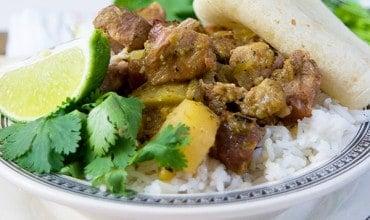 Slow Cooker Southwestern Pork Stew