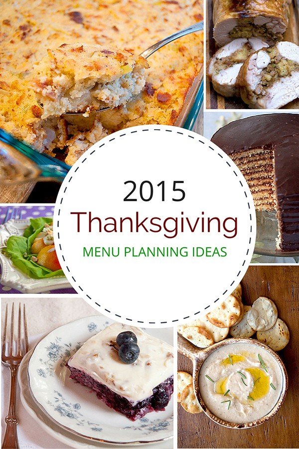 A roundup of my best Thanksgiving menu recipes. From @NevrEnoughThyme http://www.lanascooking.com/thanksgiving-menu-ideas