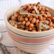 Black Eyed Peas for Luck on New Year's!