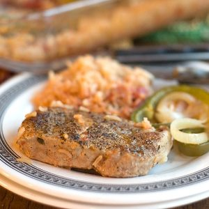 One-Dish Pork Chops and Rice