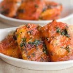 Fried Tomatoes with Garlic