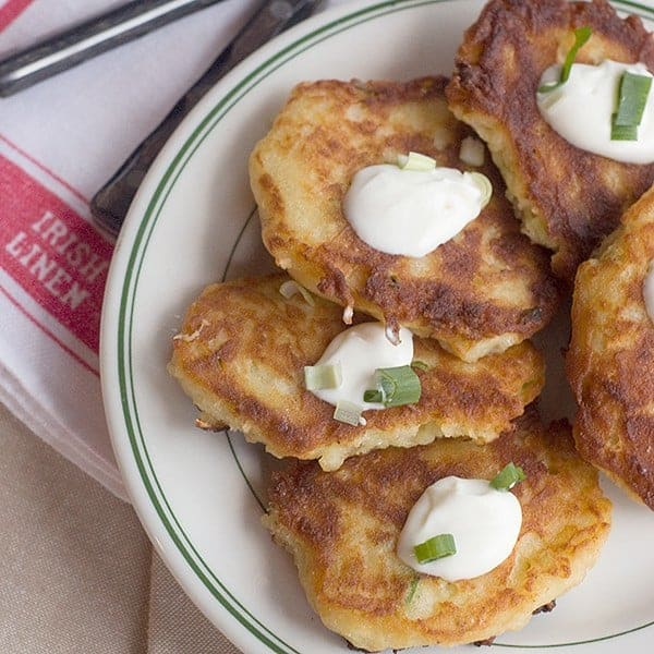 Boxty - a traditional Irish potato pancake. From @NevrEnoughThyme http://www.lanascooking.com/boxty