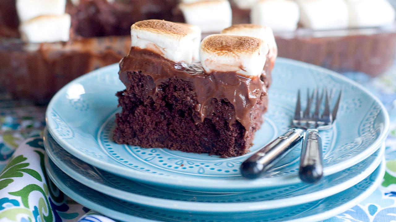 Different Chocolate Poke Cake Recipes
