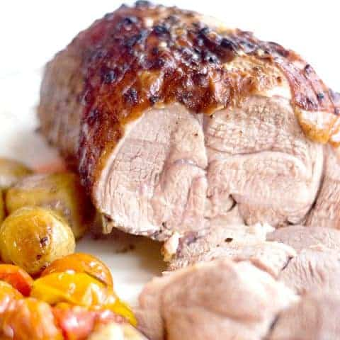 Roasted Boneless Leg of Lamb - welcome spring with this traditional recipe for leg of lamb. A great choice for your Easter dinner. From @NevrEnoughThyme http://www.lanascooking.com/roasted-boneless-leg-of-lamb/