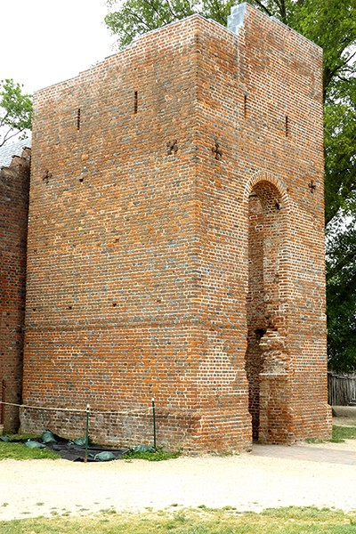 Jamestown Church From @NevrEnoughThyme http://www.lanascooking.com/americas-historic-triangle