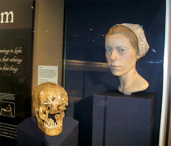 Jane's Story exhibit at the Voorhees Archaearium, Jamestown Island, Virginia. From @NevrEnoughThyme http://www.lanascooking.com/americas-historic-triangle