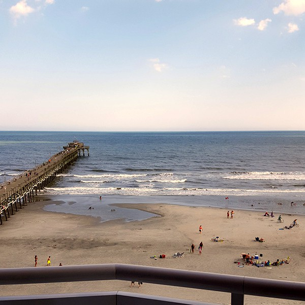 Cherry Beach Pier - North Myrtle Beach - http://www.lanascooking.com/myrtle-beach