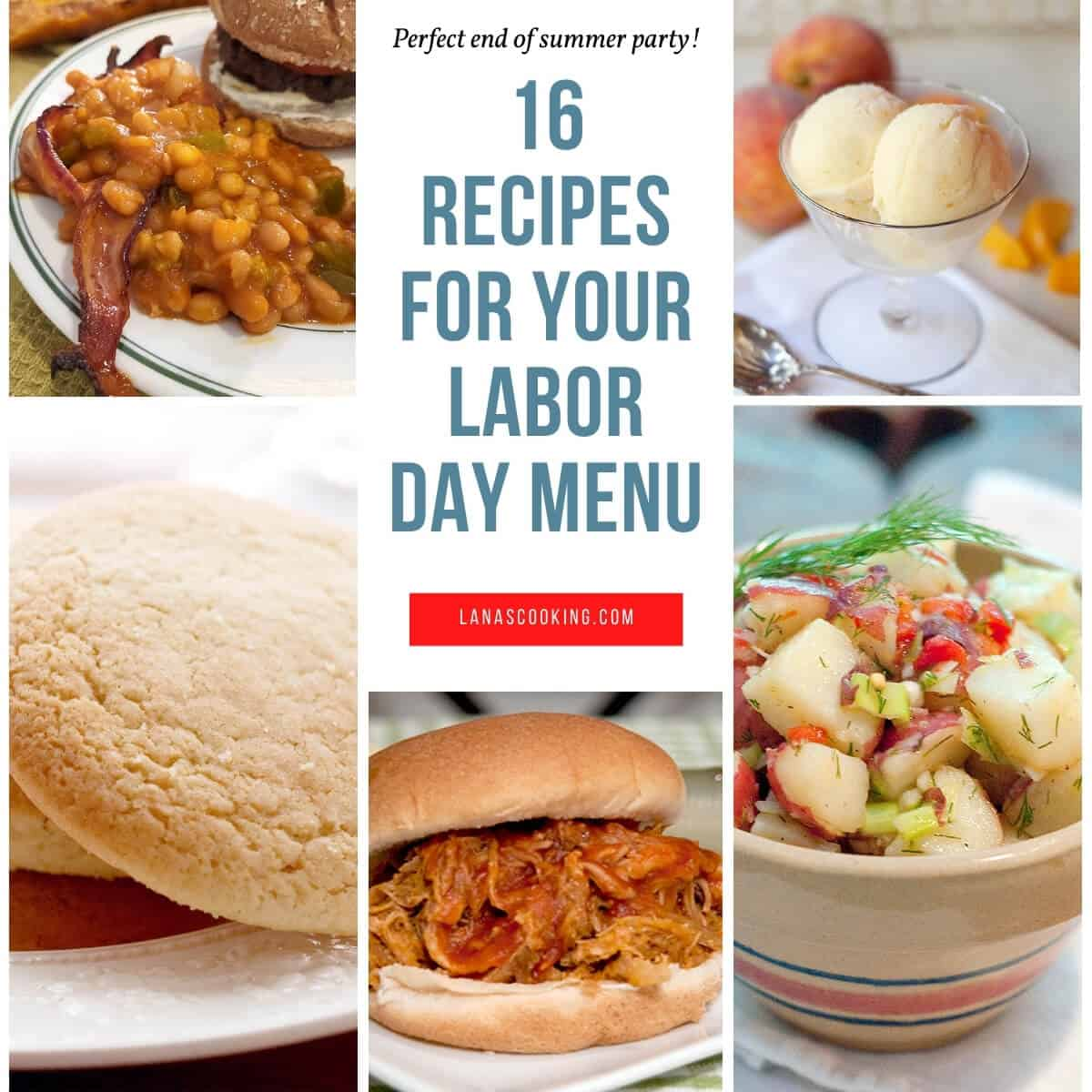 16 Recipes for Your Labor Day Menu
