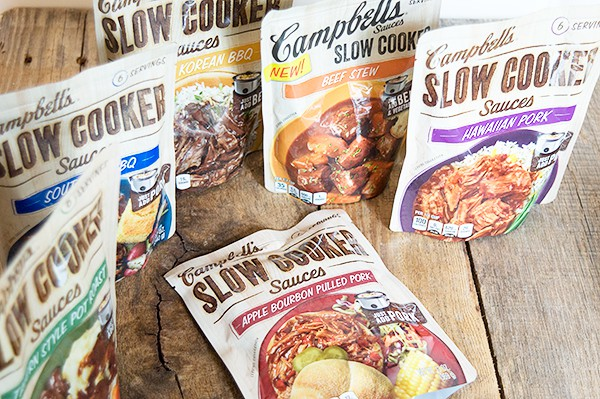 Campbell's Slow Cooker Sauces