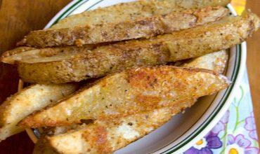 Parmesan Garlic Baked Potato Wedges