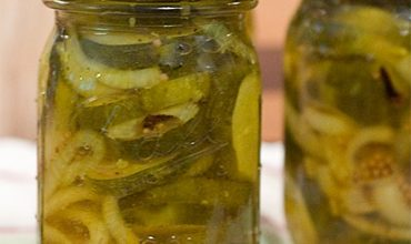 Sugar-Free Bread and Butter Pickles